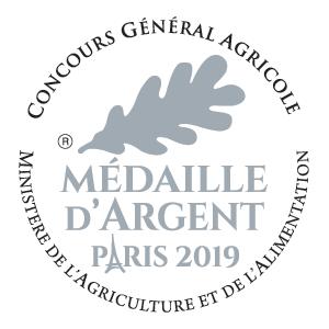 Les Vergers des Tilleuls ont remporté la Médaille d'Argent à Paris en 2019 pour les Jus de pomme !