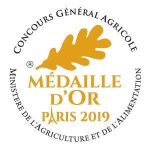 Les Vergers des Tilleuls ont remporté la Médaille d'Or à Paris en 2019 pour les Jus de pomme et les Bulles de pomme !